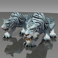world warcraft - tiger 3D model