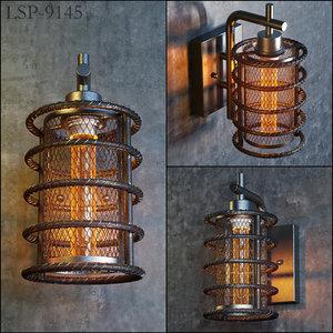 3D lussole loft lsp-9145 model