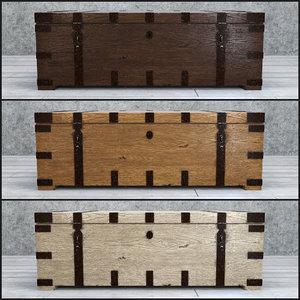 3D heirloom chest ready