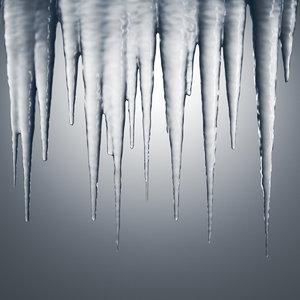 3D icicles set
