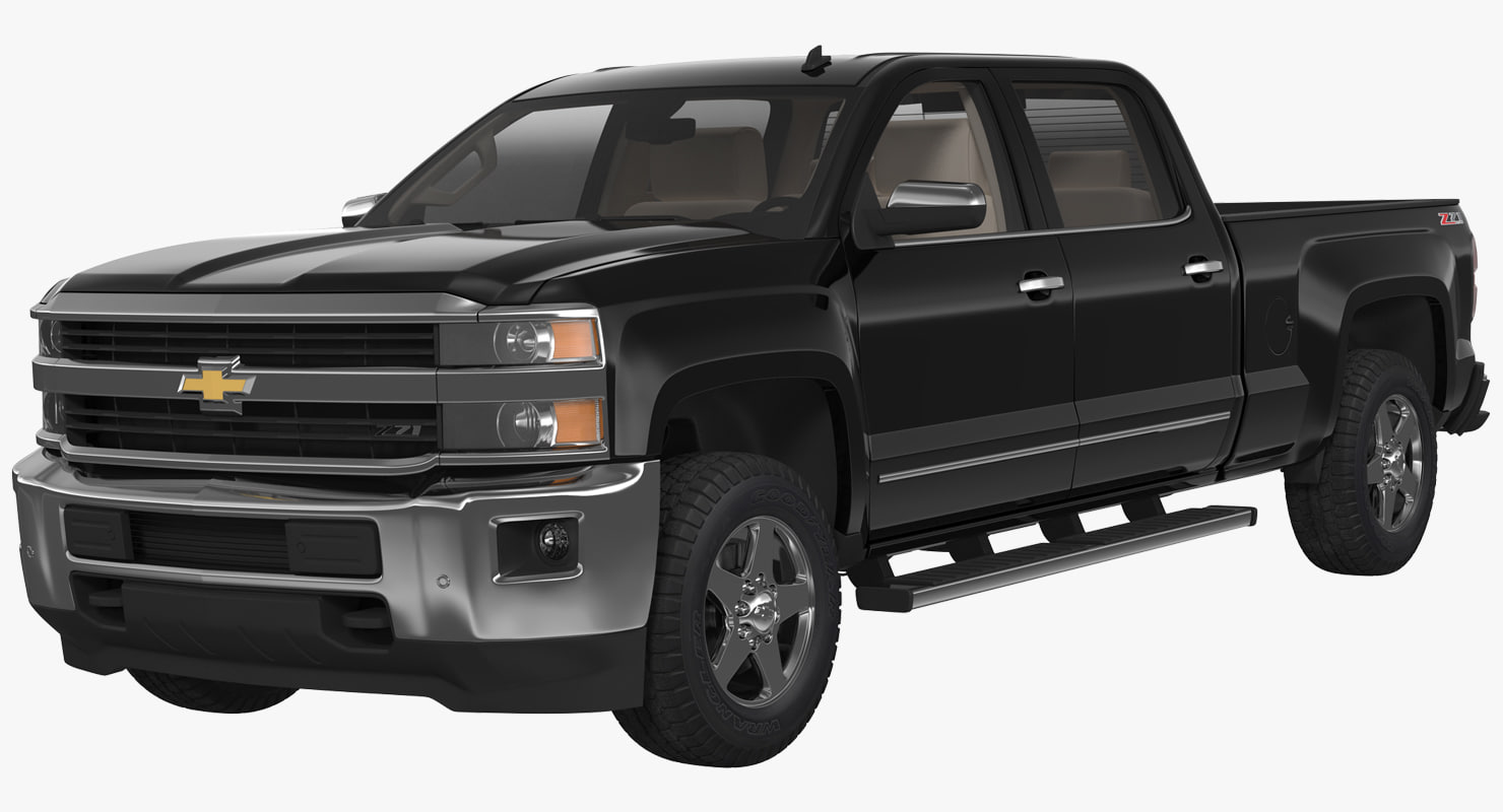 3d chevrolet silverado 2015 model turbosquid 1229649. Black Bedroom Furniture Sets. Home Design Ideas
