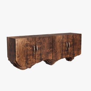 brabbu huang sideboard 3D model