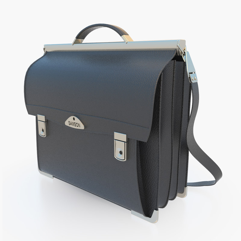 leather business bag model