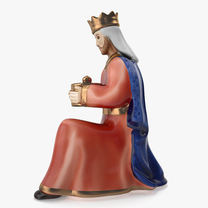 3D model nativity set