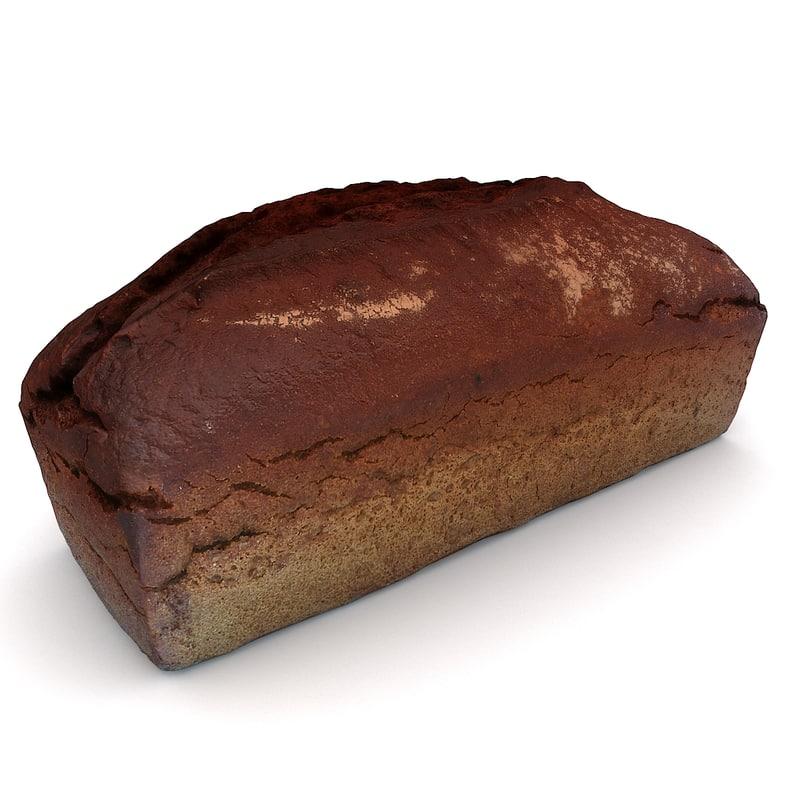 3D scan loaf bread