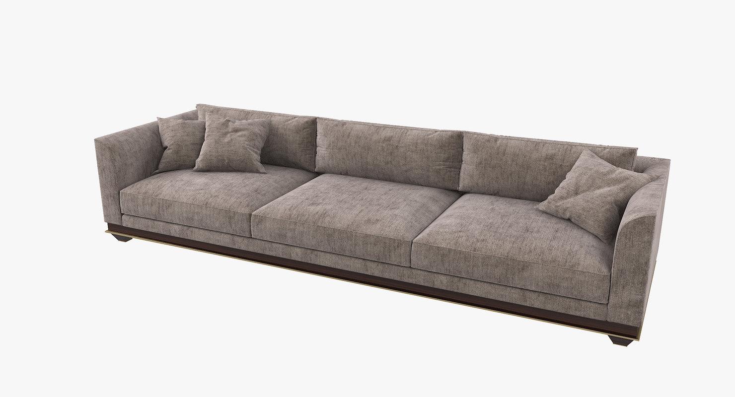 3D model fratelli longhi chopin sofa