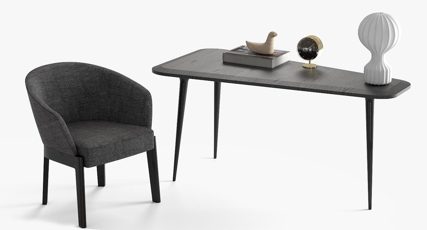 3D chair table chelsea