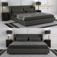 3D bed bellini model