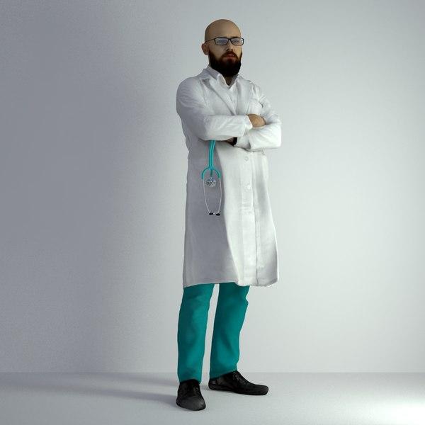 scanned man 026 3D model