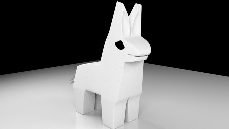 3D pony