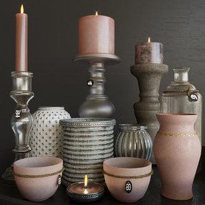 candles 3D