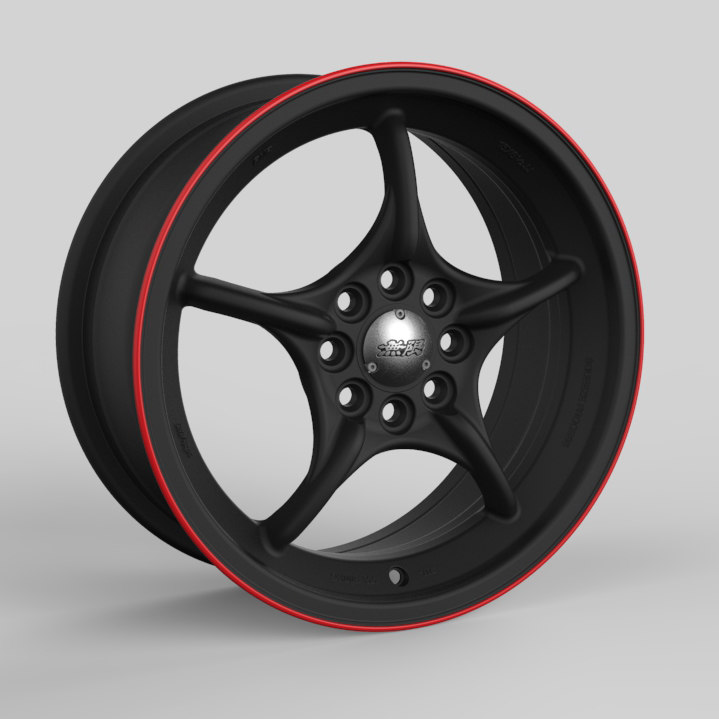 mugen weapon rnr wheel 3D model