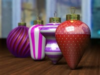 christmas balls model