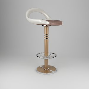 barstool yachting wood 3D model