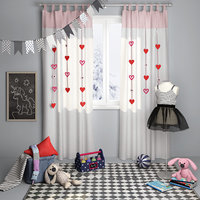 Decorative set for children`s room