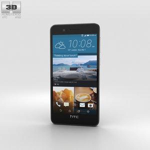 3D htc 728 desire model