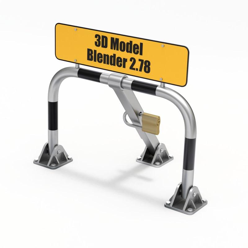 3D barrier parking