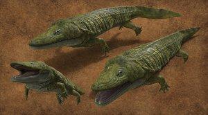 3D model mastodonsaurus