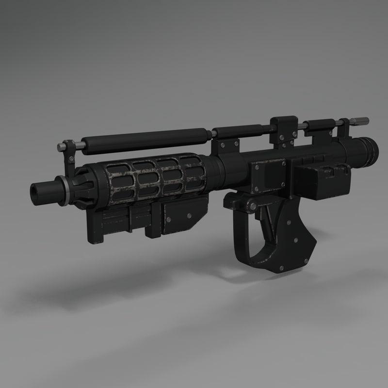 droid gun 3D