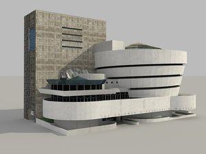 solomon r guggenheim museum model