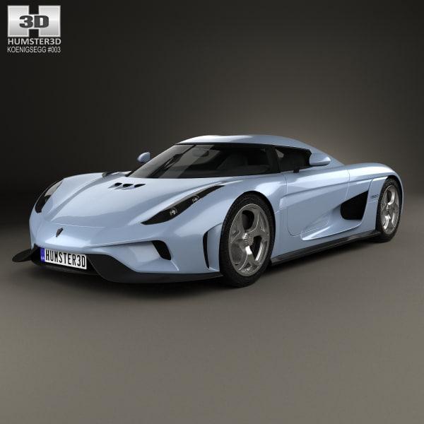 koenigsegg regera 2015 3D model
