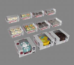cupcake cake 3D