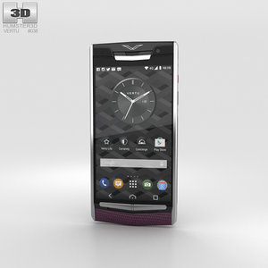 3D vertu signature touch model