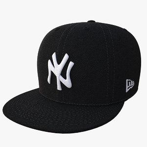 baseball cap f59 3D