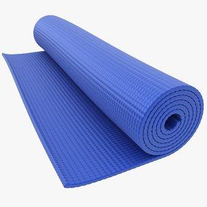 yoga mat 2 3D model