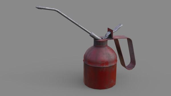 oil 2 3D model