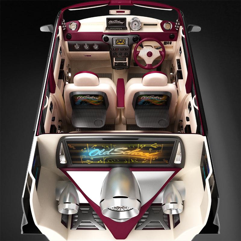 interior exclusive demo car model