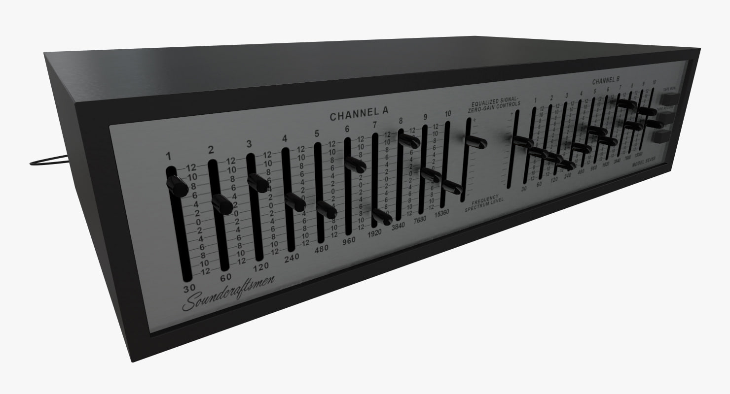3D equalizer soundcraftsmen se450 model