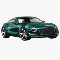 2015 bentley exp 10 3D model