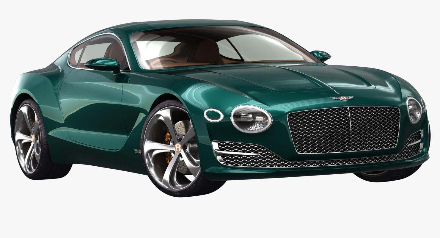 2015 bentley exp 10 3D model