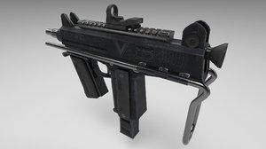 cbj-ms smg futuristic 3D model