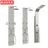 Hydromassage shower panels Ravak set 03