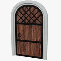 forged wooden door pbr model & Door 3D Models for Download | TurboSquid pezcame.com