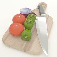 vegetable 3D