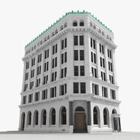 New York corner building