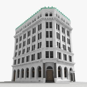 3D building new york