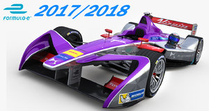 3D formula e ds virgin model