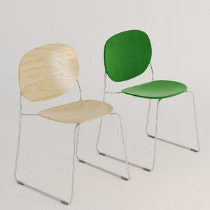 3D olive chair designer