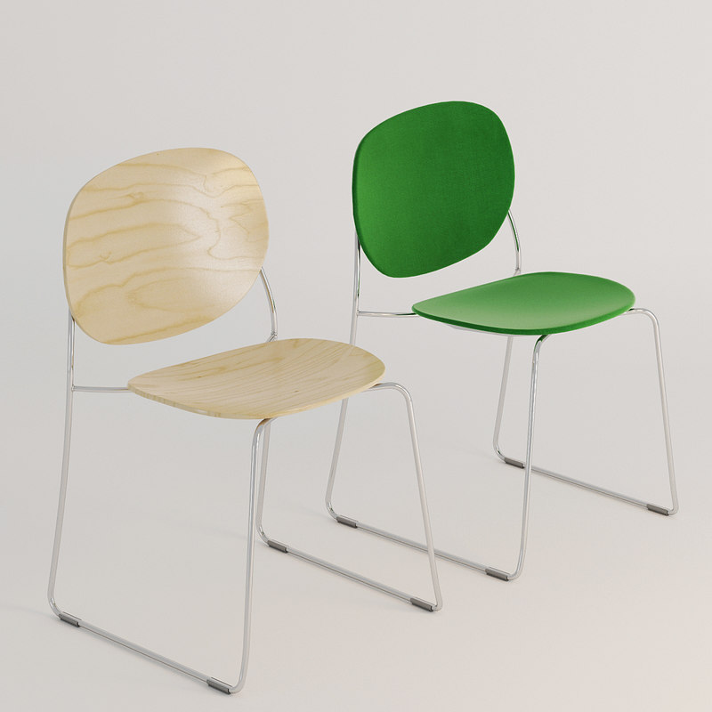 3D olive chair designer TurboSquid 1230137