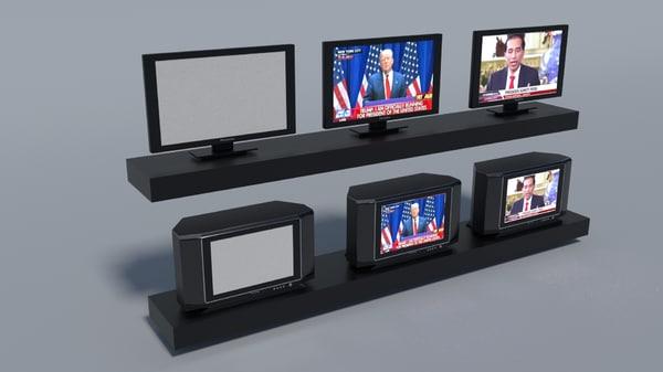 3D tv lcd crt