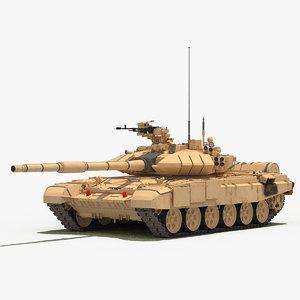 t-90s bhishma india tank 3D