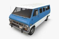 3D model econoline 1970