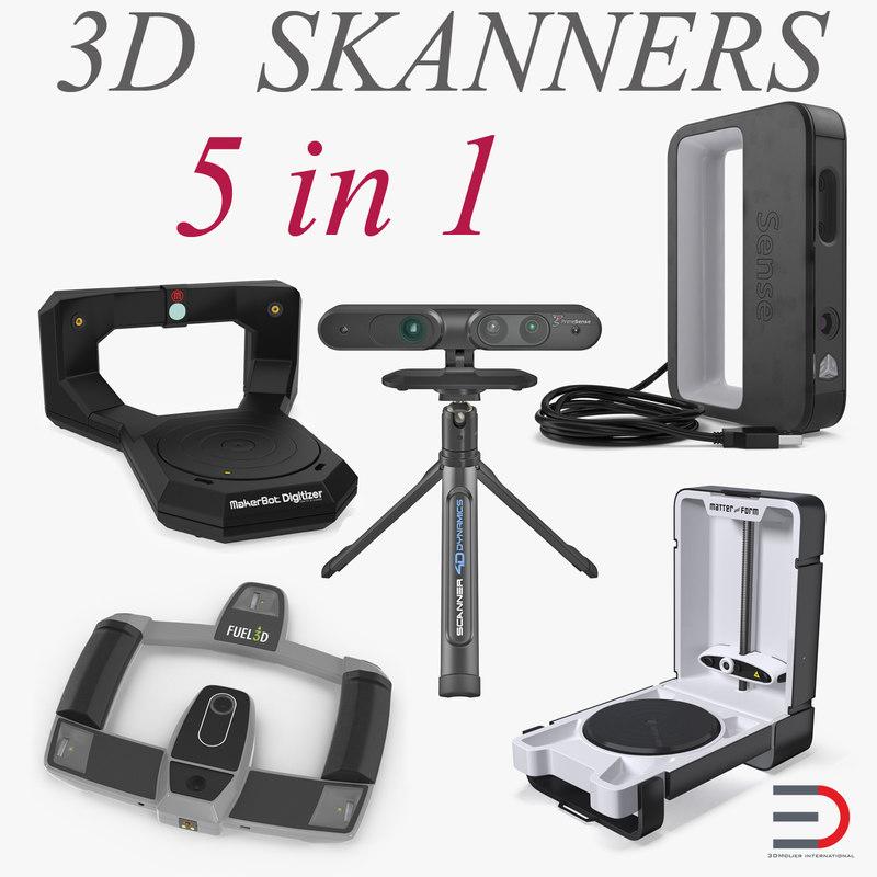 scanners handheld fuel3d 3D model