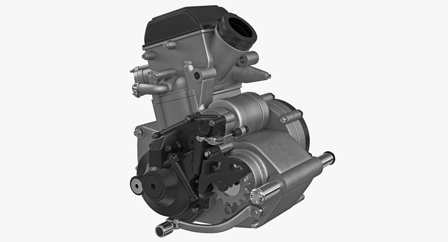 motocross motorcycle engine 2 model