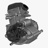motocross motorcycle engine 2 model
