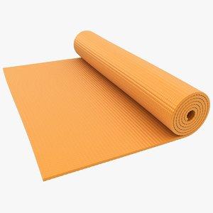 yoga mat 3 3D model